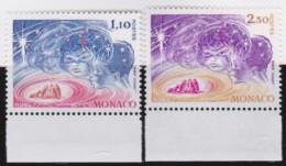 Monaco   .   Yvert     1249/1250         .     **      .     Neuf SANS Charniere      .    /    .    MNH - Unused Stamps