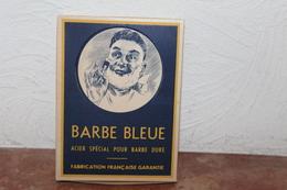 Boite Cartonnée Barbe Bleue (acier Spécial Pour Barbe Dure) - Lames De Rasoir