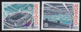 Monaco   .   Yvert     1565/1566         .     **      .     Neuf SANS Charniere      .    /    .    MNH - Unused Stamps