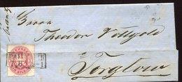 38814 Preussen Brief  1862 Pavenalk To  Torglow  1s. - Prusse