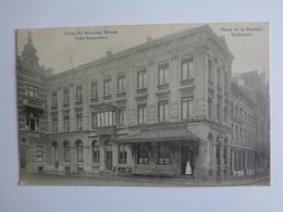 Tiene - Tirlemont - Place De La Station - Hôtel Du Nouveau Monde - Café-Restaurant - Tienen
