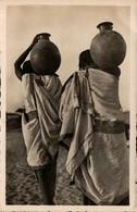 Tchad - FORT-LAMY - Retour De La Corvée D'eau - Tchad