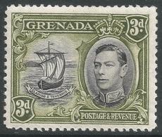Grenada. 1938-50 KGVI. 3d MH. P12½ SG 158b - Grenada (...-1974)