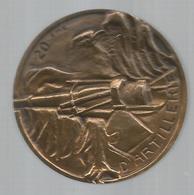Cp , Militaria ,médaille ,20 éme D'Artillerie ,100 Gr , 2 Scans ,frais Fr 4.45 E - France