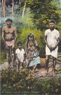 POSTAL DE PANAMA DE AN INDIAN FAMILY- DARIEN (L. MADURO) - Panamá