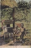 POSTAL DE PANAMA DE HAPPY DAYS - NATIVE CHILDREN (L. MADURO) - Panamá