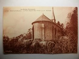 Carte Postale Mortain (50) La Petite Chapelle Saint Michel (Petit Format Noir Et Blanc Non Circulée ) - Autres Communes