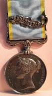 Medaille De La Guerre De CRIME Bataille De SEBASTOPOL - Médailles & Décorations