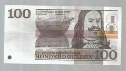 Billet , Pays Bas , De Nederlandsche Bank , 100 GULDEN , Hondered ,Amsterdam ,14 Mai 1970 ,2 Scans - [2] 1815-… : Kingdom Of The Netherlands