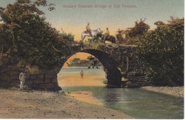 POSTAL DE PANAMA DE ANCIENT SPANISH BRIDGE AL OLD PANAMA (L. MADURO) - Panamá
