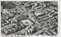 AK 0051  Den Haag - Plein Met Omgeving / Luftaufnahme Ca. Um 1940-50 - Den Haag ('s-Gravenhage)