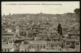 Ref 1228 - Early Greece Postcard - View Of Upper Town - Salonica Salonique Thessaloniki - Greece