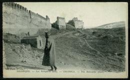 Ref 1228 - Early Greece Postcard - The Bulwarks - Salonica Salonique Thessaloniki - Greece
