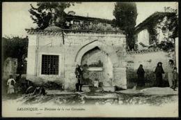 Ref 1228 - Early Greece Postcard - Fontaine Cassandre - Salonica Salonique Thessaloniki - Greece