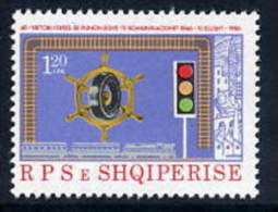 ALBANIA 1986 Transport Workers MNH / **.   Michel 2301 - Albania