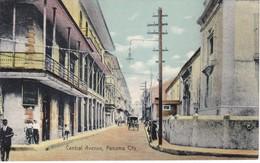 POSTAL DE CENTRAL AVENUE IN PANAMA CITY (ALBERT LINDO) - Panamá