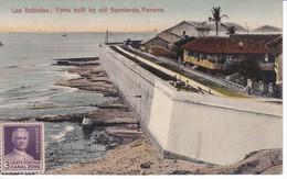 POSTAL DE PANAMA DE LAS BOBEDAS, FORTS BUILT BY OLD SPANIARDS (L. MADURO) - Panamá