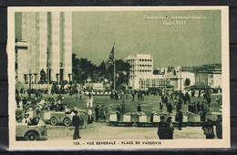 1937 - EXPO INT. PARIS - PLACE DE VARSOVIA - Sonstige