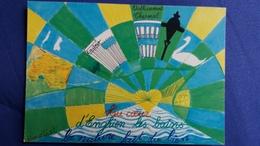 CPM ILLUSTRATEUR AMETIST AU COEUR LA NATURE FAIT DU BIEN    ENGHIEN 1989 1 ERE RENCONTRE ARTISTES 1989 N° 439/ 3000 - Illustrateurs & Photographes