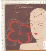 PO7752D# BROCHURE PUBBLICITA' 1935 CIPRIA COTY - PROFUMI BELLEZZA - Materiale Di Profumeria