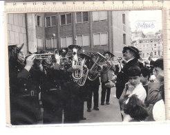 PO7761D# FOTOGRAFIA BANDA MUSICALE BERSAGLIERI - TROMBE - War, Military
