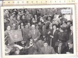PO7762D# FOTOGRAFIA ASS.NAZIONALE BERSAGLIERI SEZ.A. LAMARMORA TORINO - TROMBE - War, Military