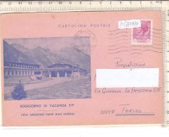 PO7778D# VALLE D'AOSTA - GRESSONEY SAINT JEAN - SOGGIORNO VACANZA SIP NUCLEO GENZIANELLA  VG 1974 - Italie