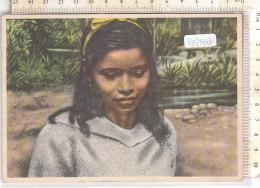 PO7781D# ECUADOR - MISSIONI PADRI GIUSEPPINI DEL MURIALDO ORIENTE ECUADORIANO - TIPI INDI YUMBOS - BAMBINI  VG 1956 - Missioni