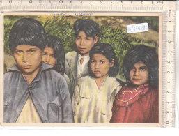 PO7782D# ECUADOR - MISSIONI PADRI GIUSEPPINI DEL MURIALDO ORIENTE ECUADORIANO - TIPI INDI YUMBOS - BAMBINI  VG 1956 - Missioni