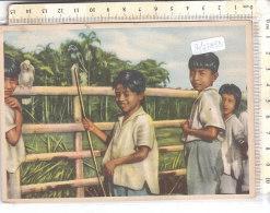 PO7783D# ECUADOR - MISSIONI PADRI GIUSEPPINI DEL MURIALDO ORIENTE ECUADORIANO - TIPI INDI YUMBOS - BAMBINI  VG 1956 - Missioni