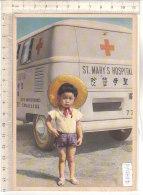 PO7784D# MISSIONI CAMILLIANE - AMBULANZA CROCE ROSSA - ST.MARY'S HOSPITAL - BAMBINI  No VG - Missioni