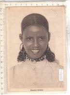 PO7792D# ETIOPIA COLONIE - RAGAZZA ABISSINA  VG 1953 - Ethiopia