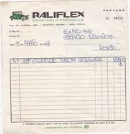 PORTUGAL COMMERCIAL DOCUMENT - RALIFLEX  - PORTO - TINTAS  PARA AUTOMÓVEIS - Portugal