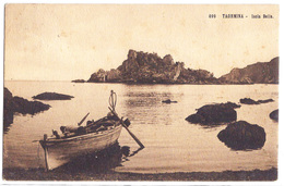 Taormina (Messina) - Isola Bella. 1913 - Messina