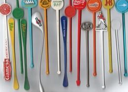 28 MELANGEURS A BOISSON Touilleurs - Swizzle Sticks