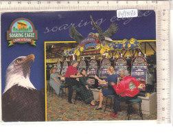 PO7917D# GIOCHI DI AZZARDO - SLOT MACHINES - CASINO EAGLE MILLIONS   VG 1998 - Cartoline