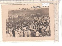 PO7942D# FOTOGRAFIA ETIOPIA - ETHIOPIA COLONIE - MAGDALA - ESERCITO ABISSINO  No VG - Ethiopia