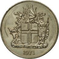 Monnaie, Iceland, 10 Kronur, 1971, TTB, Copper-nickel, KM:15 - Iceland