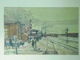 Russia 267 Pamatnik Odboje 1920 Train Station - Russia