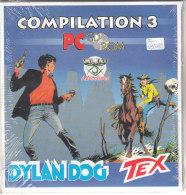 PO8108D# COMPILATION 3 DYLAND DOG TEX SIMULMONDO ADVENTURES - PC CD ROM GIOCHI RETRO CONSOLLE - PC-Games