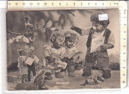PO8125D# MECKI - PUPAZZI RICCI - CORO CANTANTI - RANA FROG VG 1956 - Mecki