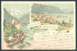 VD Vaud Souvenir De MONTREUX Kunzli - VD Vaud