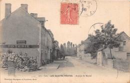 LES QUATRE-ROUTES - Avenue De Martel - Frankrijk