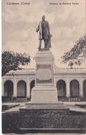 POSTAL DE CARDENAS DE LA ESTATUA DE ESTRADA PALMA (CUBA) (LIBRERIA EL MADRILEÑO) - Cuba