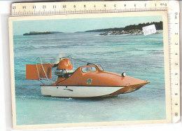 PO8131D# MOTOSCAFO HYDROCOPTER TRANSPORT OF MAIL - POSTE  VG 1971 - Altri
