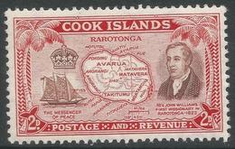 Cook Islands. 1949-61 Definitives. 2d MH. SG 152 - Cook Islands