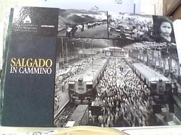 """Roma  Promocard MOSTRA """"SALGADO IN CAMMINO"""" Di SEBASTIÃO SALGADO, Scuderie P. Quirinale TRENO TRAIN N2000 GW4419 - Mostre, Esposizioni"""