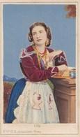 Photo Cdv Italia Costumi Costume Femme Photo Colorée Rome Italie Italy  PRIX FIXE - Old (before 1900)