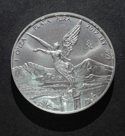 Mexico Libertad 1 Oz 2017 Silver 99,9% - 1 Oncia Argento Puro Bullion Messico - Messico