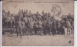 Thèmes > Militaria > Régiments Fort De Toulbroc'h Ambulance D'un Corps D'armée A Son Depart Au Front - Regimientos